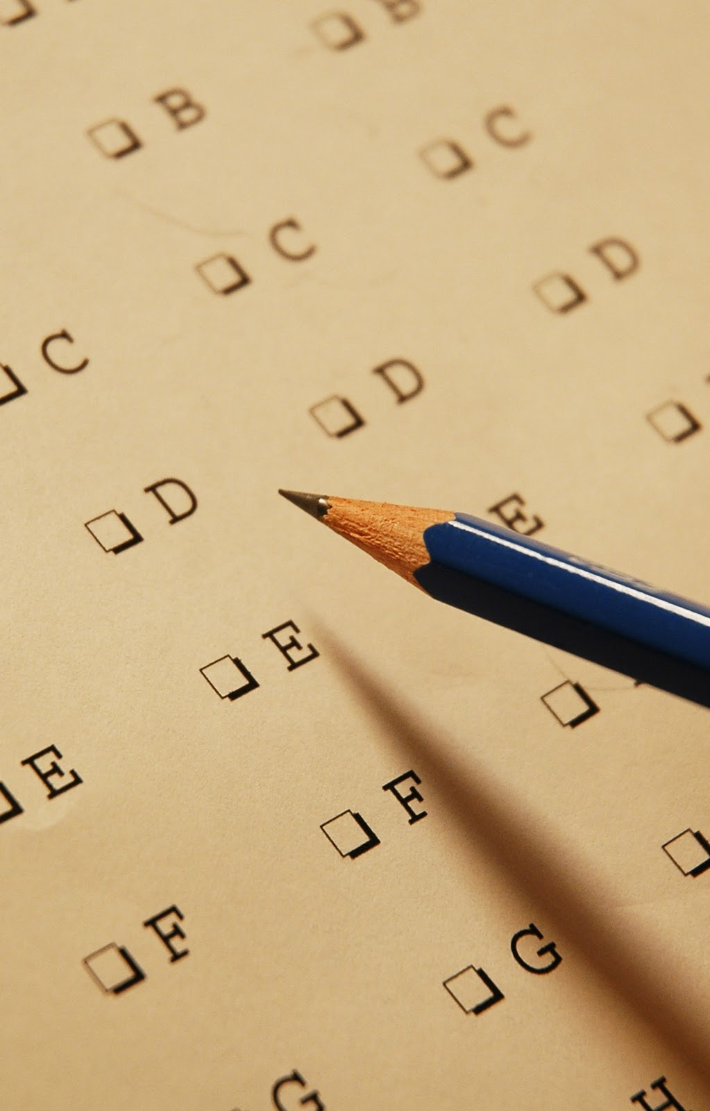 Multiple Choice Answer Sheet At the answer sheet.